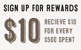 Sign up For Rewards