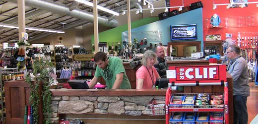 Employees Working In The Coeur d'Alene Store