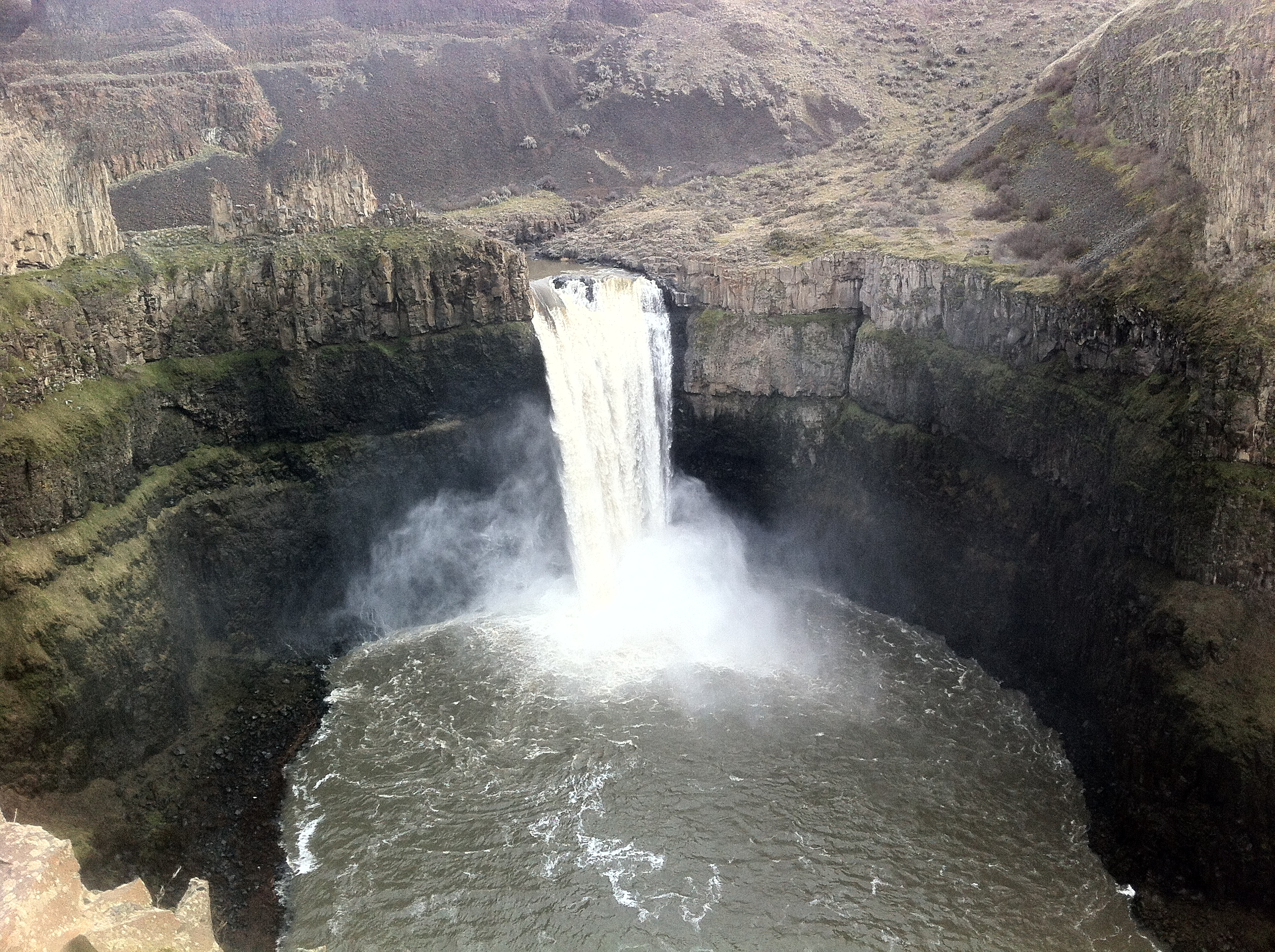 Palouse Falls Waterfall