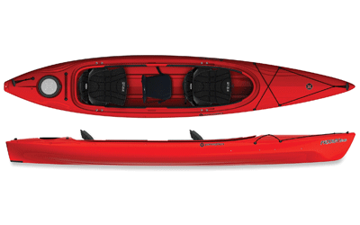 Red Perception Prodigy II 14.5 Tandem Kayak