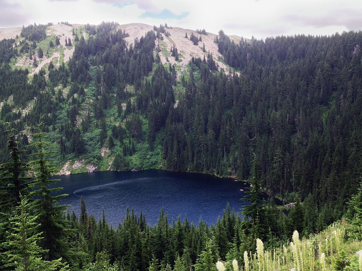 Ridges Surrounding Crystal Lake