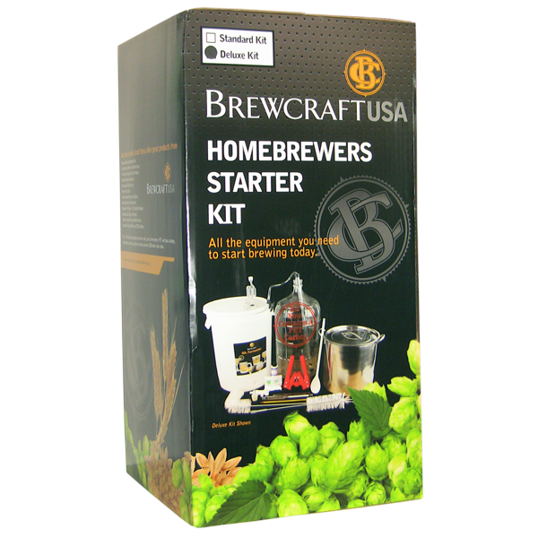 Brewcraft Homebrewers Deluxe Starter Kit