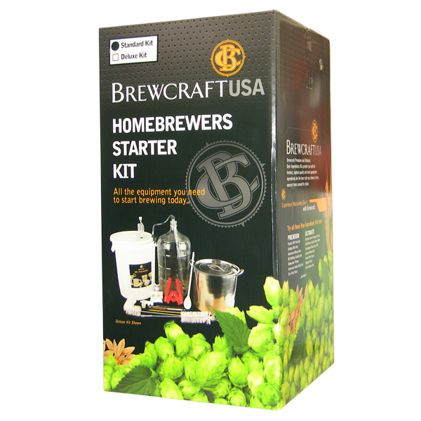 Brewcraft Homebrewers Starter Kit