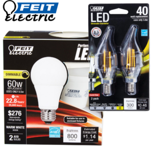 LED Bulbs 2-Pack 600X600