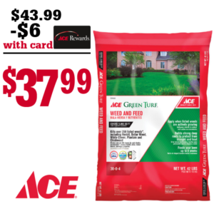 600X600 ACE WEED & FEED 15000
