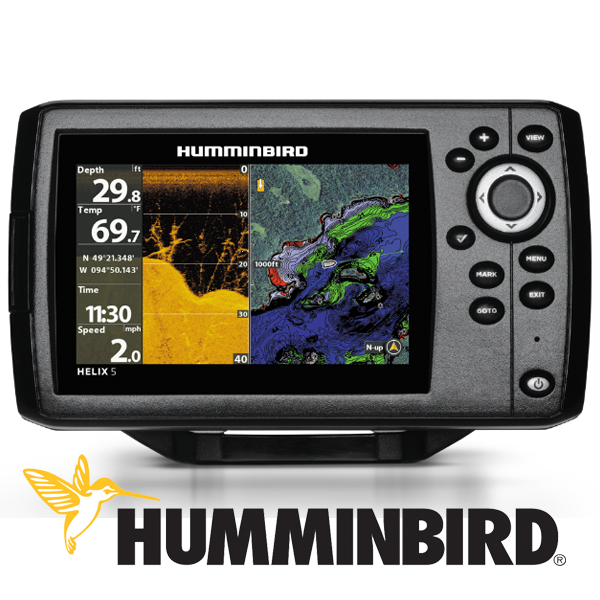 Humminbird 5 GPS & Down Imaging Fishfinder
