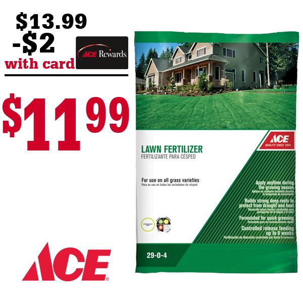 Ace Lawn Fertilizer