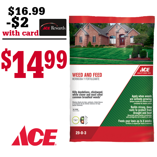 Ace Weed and Feed