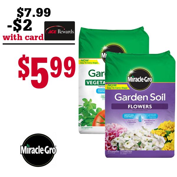 Miracle Gro Garden Soil