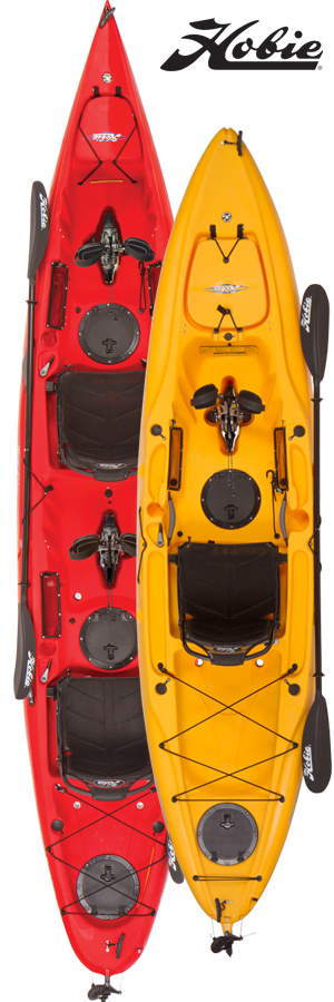 Hobie Oasis & Hobie Outback MirageDrive Kayaks