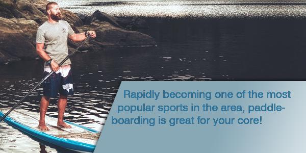 Paddle Boarder Image