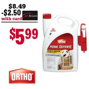 Ortho Home Defense Bug Spray