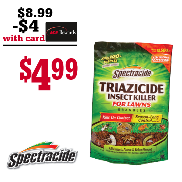 Triazicide Insect Killer Granules for Lawns