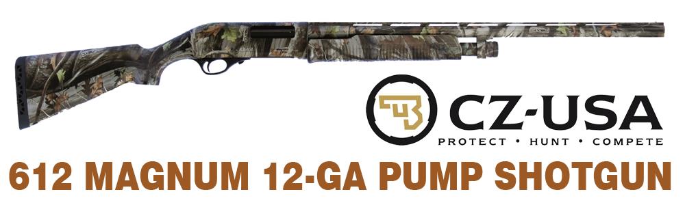 cz-usa 612 Magnum 12-GA Shotgun
