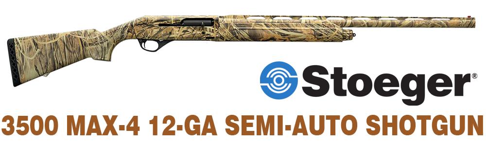 Stoeger 3500 Max-4 12-Ga. Semi-Auto Shotgun