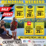 Moses Lake – Memorial Weekend Sale Event! Newsprint Advertisement