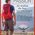 Moscow – Osprey Backpacks Newsprint Advertisement
