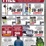 Moses Lake – Fishing Local Waters Newsprint Advertisement