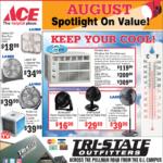 Moscow – ACE August Spotlight On Value Newsprint Advertisement