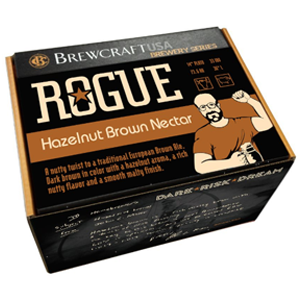 Brewcraft ROGUE Hazelnut Brown Nectar Ingredient Kit