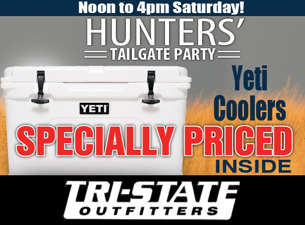 HUNT - SALE Yeti - Tri-State Outfitters
