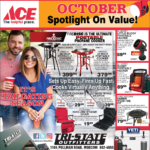 Moscow – October Spotlight On Value! Newsprint Advertisement