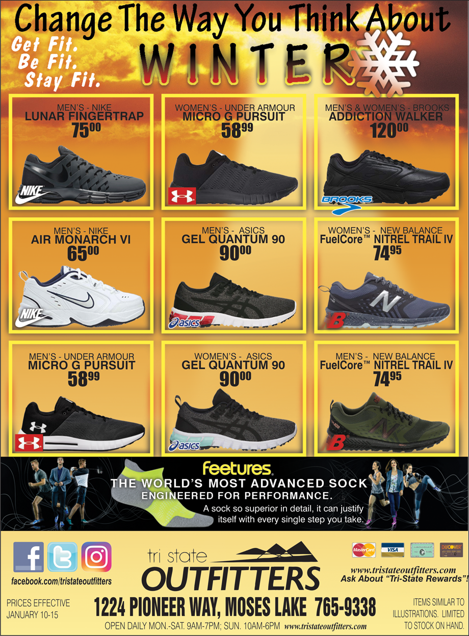 Moses Lake – Winter Fitness Footwear