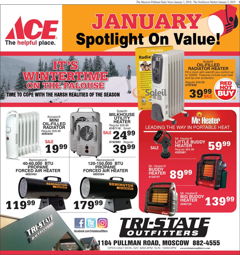 Moscow – ACE January Spotlight on Value!