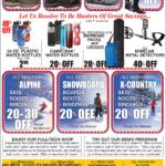 CDA – President's Day Sale Newsprint Advertisement