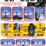 Lewiston – President's Day Sale Newsprint Advertisement