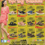 Moses Lake – Sandals In Stock! Newsprint Advertisement