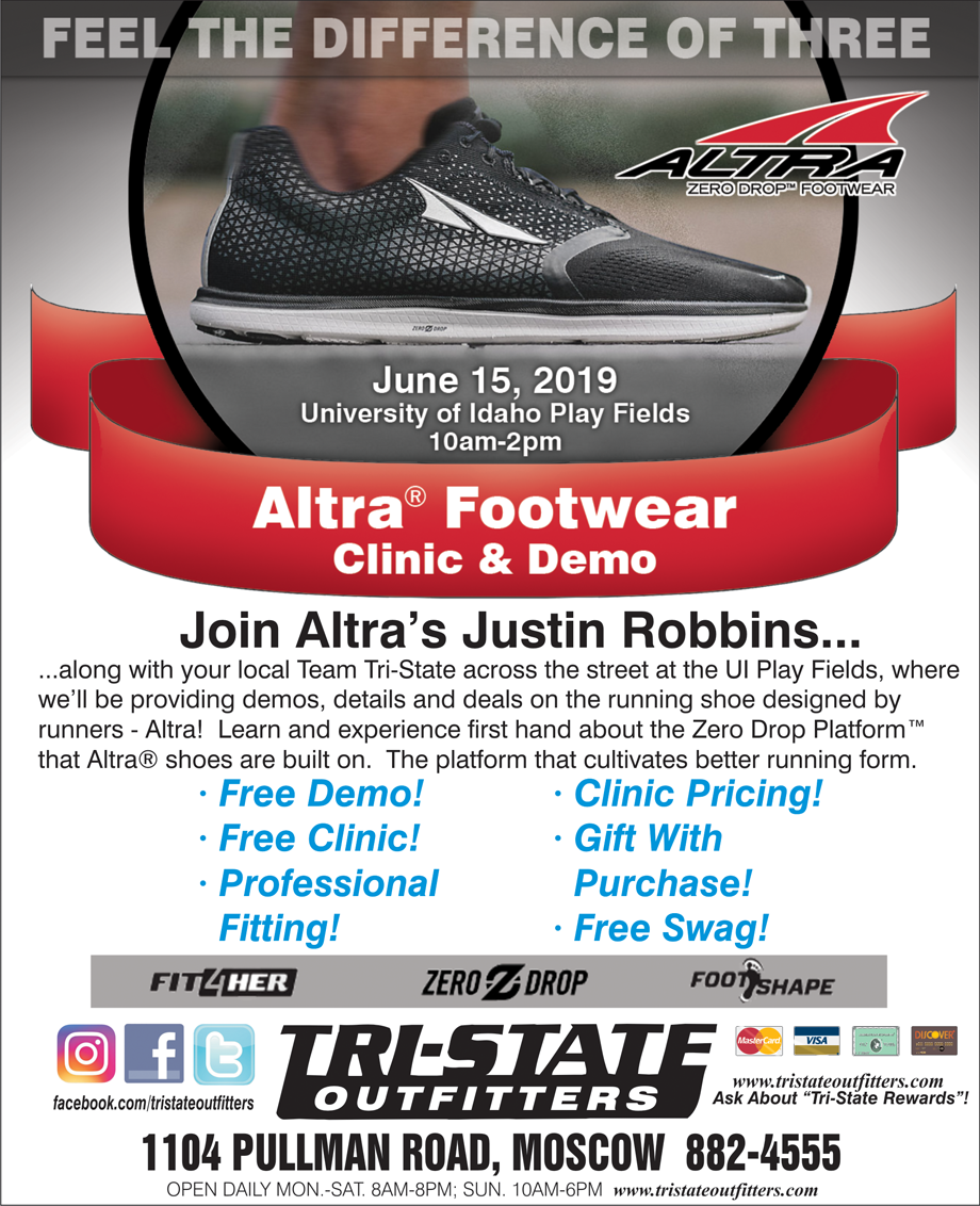 Moscow – Altra Running Shoe Clinic & Demo