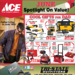 Moscow – ACE June Spotlight On Value! Newsprint Advertisement