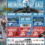 Moses Lake – 10-Day Memorial Day Sale Newsprint Advertisement