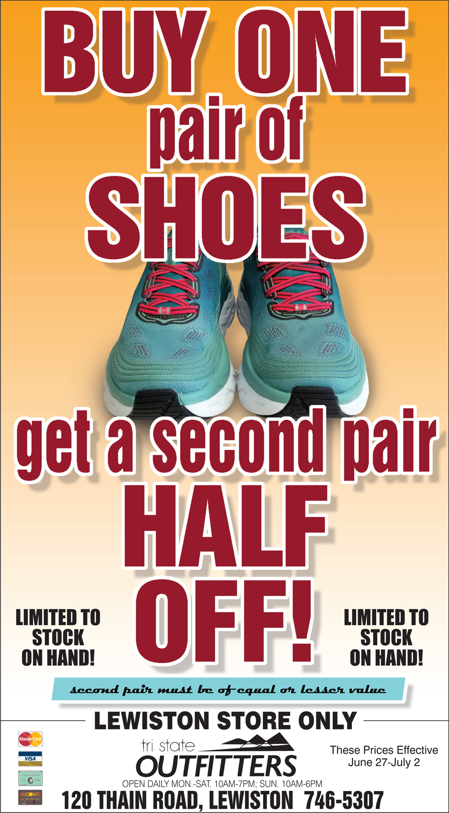 cc20c9b029c Lewiston - Shoe BOGO - Tri-State Outfitters