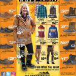 CDA – Fall Apparel Newsprint Advertisement