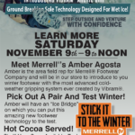 CDA – Merrell Arctic Grip Footwear Demo Newsprint Advertisement