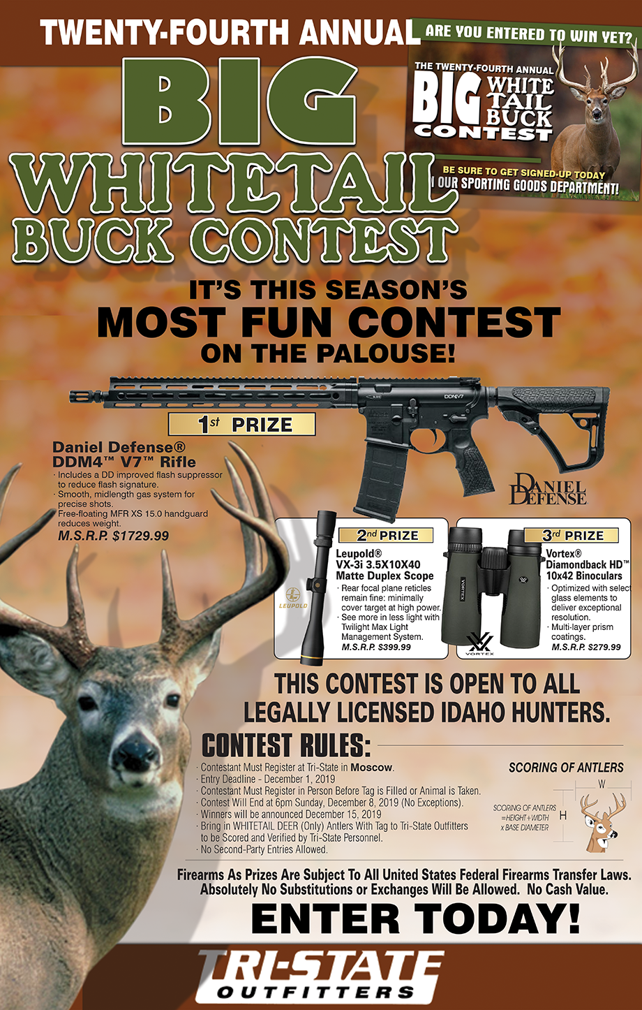Moscow – Big Buck Contest 2019