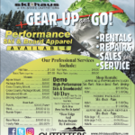 CDA – The Ski Haus at Tri-State Outfitters Newsprint Advertisement