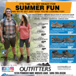 Moses Lake – Get Ready For Summer Fun! Newsprint Advertisement