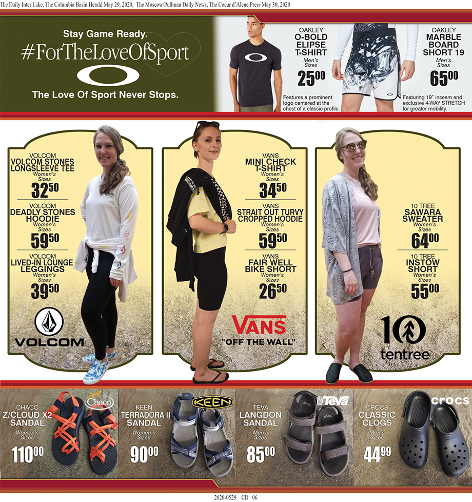 CDA – Summer Fun Begins at Tri-State Outfitters!