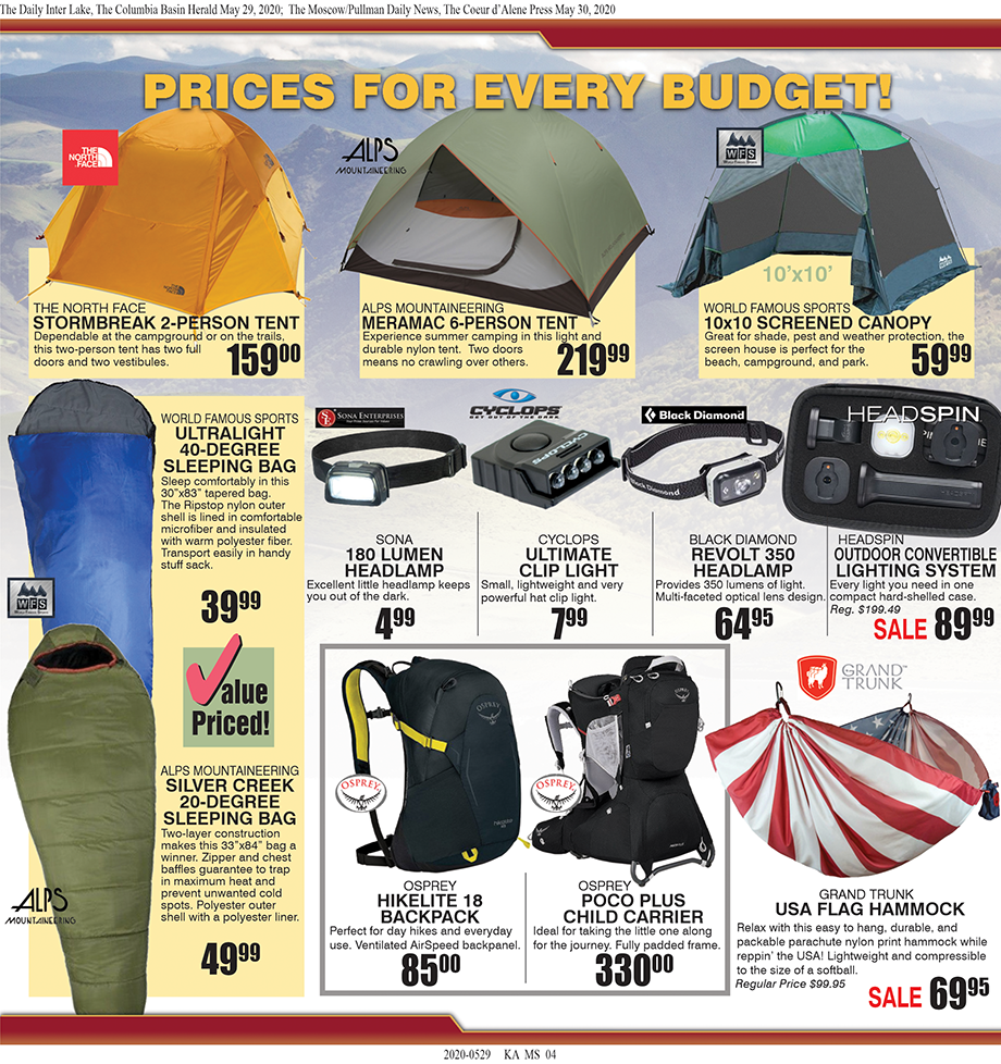 Moscow – Summer Fun Begins at Tri-State Outfitters!