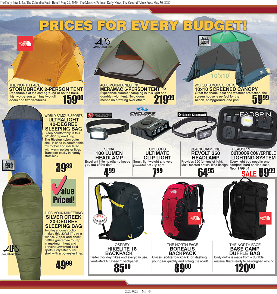 Moses Lake –  – Summer Fun Begins at Tri-State Outfitters!