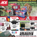 Moscow – ACE August Spotlight On Value! Newsprint Advertisement