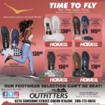 CDA – Time To Fly! Footwear for Men and Women Newsprint Advertisement