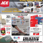 Moscow – ACE October Spotlight On Value! Newsprint Advertisement