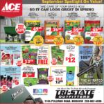 Moscow – ACE September Spotlight On Value! Newsprint Advertisement