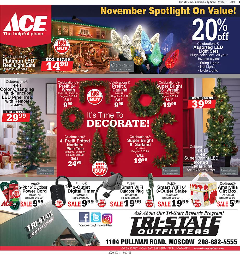 Moscow – ACE November Spotlight On Value!