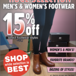 Moses Lake – Footwear Clearance Newsprint Advertisement