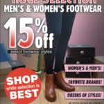 CDA – Footwear Clearance Newsprint Advertisement